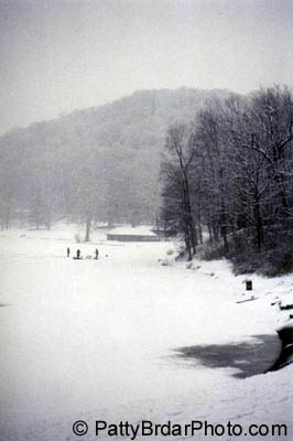 Photos of pennsylvania autumn leaves brady 39 s run park for Pa ice fishing